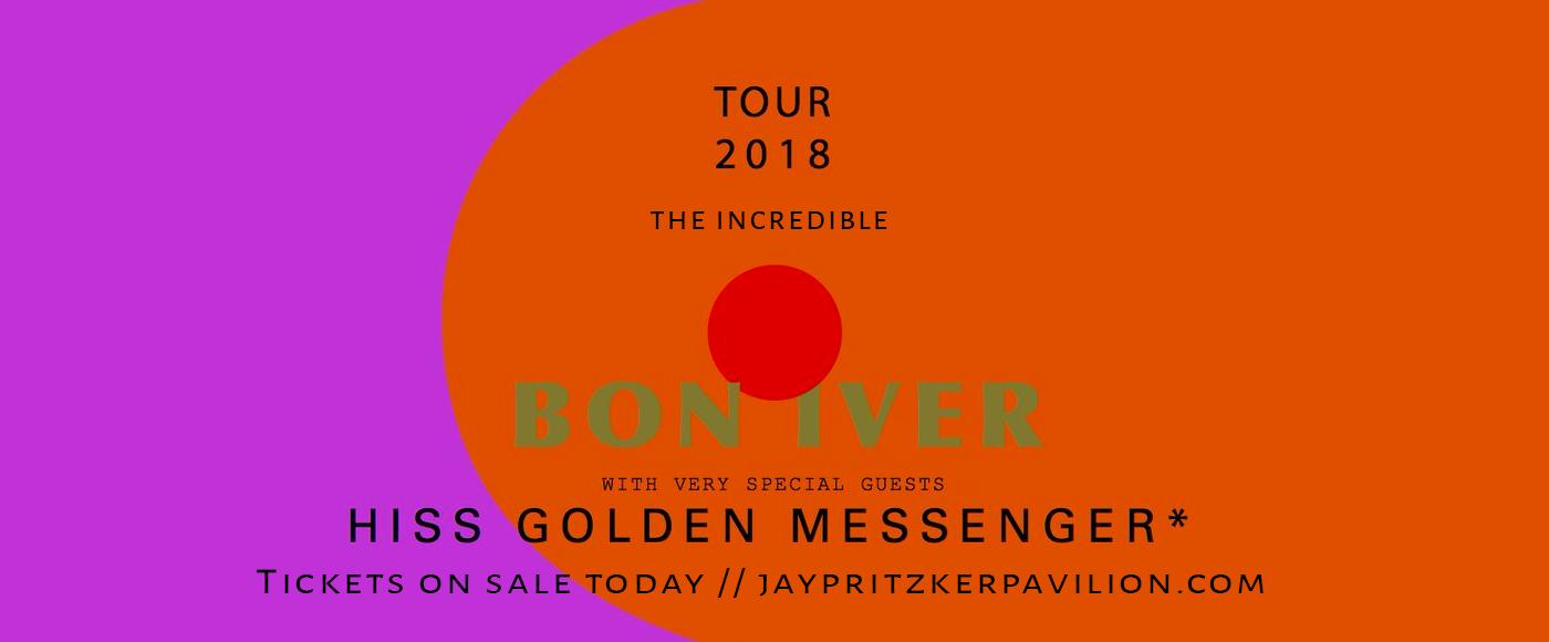 Bon Iver at Jay Pritzker Pavilion