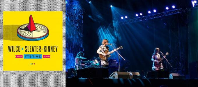 Wilco & Sleater-Kinney at Jay Pritzker Pavilion